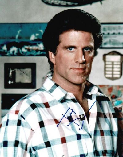 Ted Danson Autograph Signed Photo - Cheers